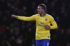 Wenger praises returning Gunner Podolski