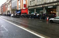Pics: Hundreds queue around the block to see Commander Hadfield