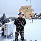 Capt Pat O'Connor from Connemara, Co Galway, is part of the UN Truce Supervision Organisation in Jerusalem.