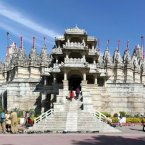 Behold the marble Jain temple of Ranakpur, India, said to be one of the most spectacular temples of its kind. It contains more than 1,440 marble pillars, and no two are the same.<span class=