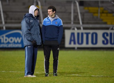 McGeeney: was involved with Armagh at the O'Fiach Cup last night.
