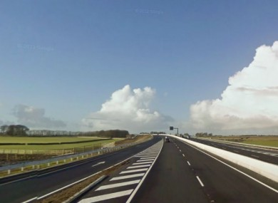The M6, near Athenry
