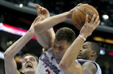 Blake Griffin shows off his outrageous skill with 5 behind-the-backs in full-court dribble