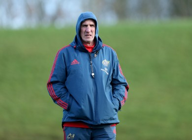 Rob Penney's plans for Munster are falling into place.