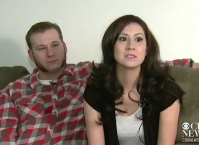 Kyle and Kristen Upham speak about their encounter with the actor
