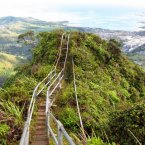 Life More: Tourism Travel World Features 25 Unbelievable Travel Destinations You Never Knew Existed      1/26  Hike the Haiku Stairs in Oahu, Hawaii — also known as