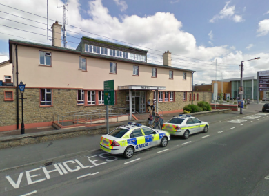 Thurles Garda Station, where the man arrested today is being held.
