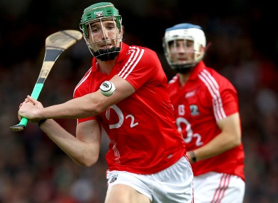 Aidan Walsh in action for the Cork U21 hurlers in 2011.
