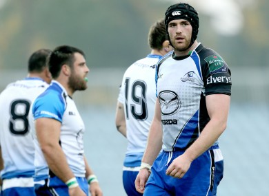Andrew Browne is in line for his 100th Connacht cap this weekend.