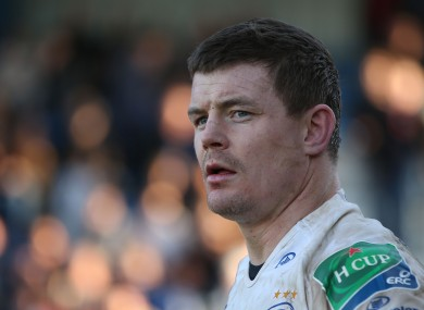 O'Driscoll was crucial to Leinster's win.
