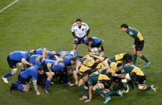 You won't be hearing the 'yes, nine' call in this weekend's Heineken Cup