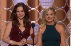 WATCH: Tina Fey and Amy Poehler's gas opening Golden Globes monologue