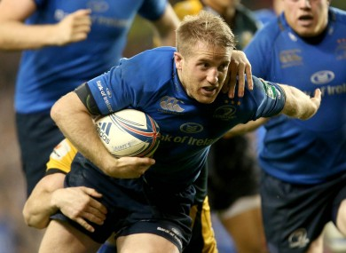 Fitzgerald has been a standout player for Leinster this season.
