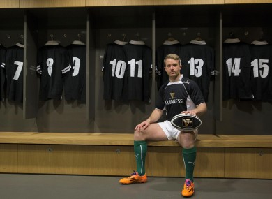 Luke Fitzgerald has teamed up with Guinness to promote the Guinness Plus App.