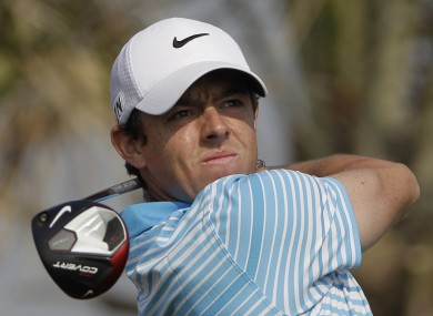 McIlroy: seven birdies made sure his round wasn't marred by an early double-bogey.