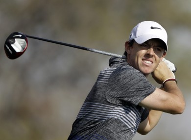 Rory McIlroy was left to count the cost of yesterday's two-stroke penalty.