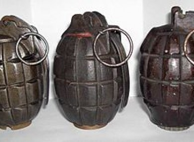 File: A Mills-type grenade