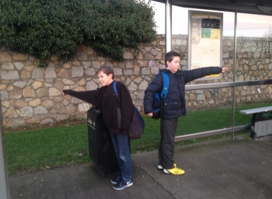 Cillian Deegan (12) and Luke Flynn (11)