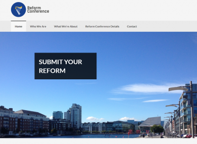 The Reform Alliance website launched this morning