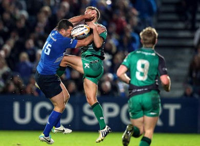Leinster were 16-13 winners against Connacht at the RDS in October.