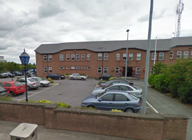 Roxboro Garda Station, where two of the men are being held.