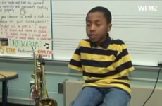 This 10-year-old born without arms wanted to play the trumpet… here's his inspiring story