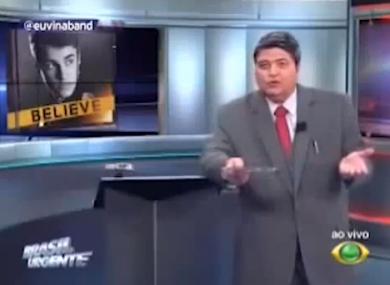 Datena speaking about Justin Bieber.