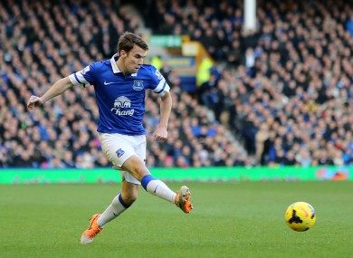 Everton's Seamus Coleman is currently the fifth highest-scoring Fantasy Football player.