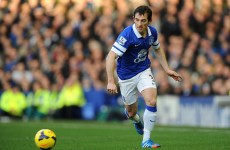 Hands off Moyes – Leighton Baines signs new four-year deal with Everton