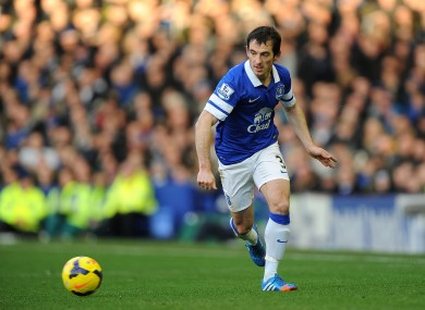 Everton's Leighton Baines.