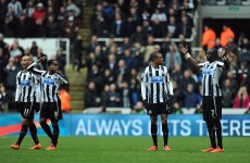 Should this Cheick Tiote strike in the Newcastle-City game have stood?