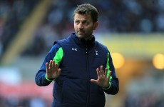 Anything less than Champions League is a disappointment for Sherwood