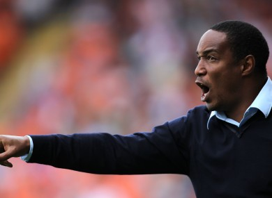 Paul Ince: poor run of results.