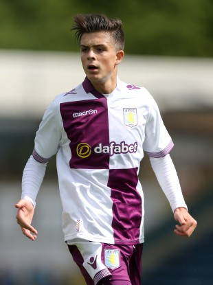 Grealish hopes to make it at his boyhood club Villa.