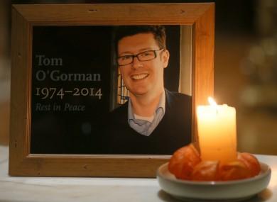 Tom O'Gorman funeral arrangements set.