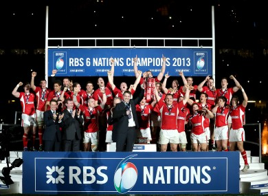 Wales are the defending champions of the Six Nations.