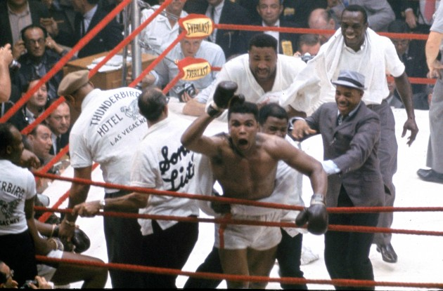 ALI LISTON FIGHT 1964