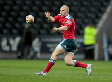 Wing Andrew Conway will surely be involved for Munster if he is fit.