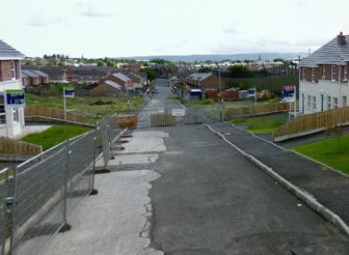 Glenbryn Park in Belfast (File photo)