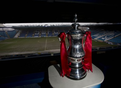 Three FA Cup ties remain today, after the Wednesday-Charlton clash was called off.