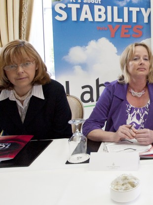 Emer Costello and Nessa Childers are former Labour Party colleagues