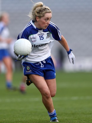 Ciara McAnespie found the net for Monaghan today.