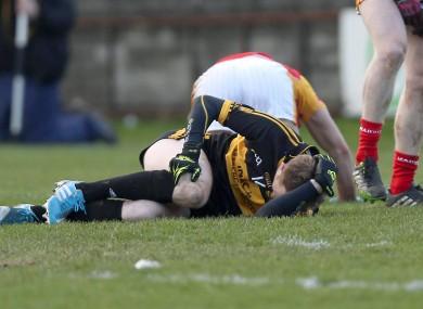 Colm Cooper is injured last week.