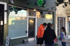 Genius Girl Scout sells hundreds of cookies outside medical marijuana clinc