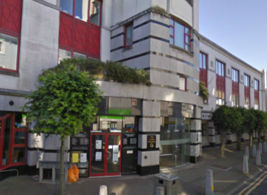 The Hynes Building in Galway, where Solomon Soremekun was killed