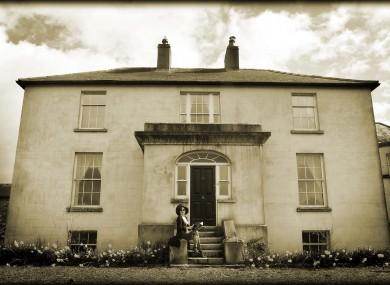Her former house in Wicklow.