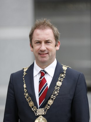 Dublin Lord Mayor Oisín Quinn