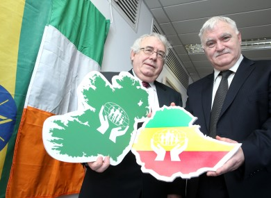 Minister for Trade and Development, Joe Costello and Kieron Brennan from the ILCU.