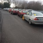 Tom Deane snapped this in UCD on Tuesday. Poor feckers.