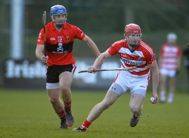 UCC's Rob O'Shea and CIT's Bill Cooper.